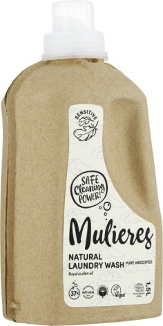 Mulieres Natural Laundry Wash Pure Unscented 1500 m