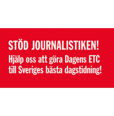 Stöd journalistiken!