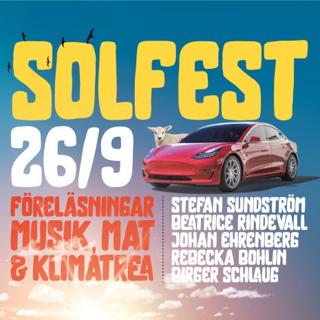 26 september 2020 - Solfest i ETC Solpark
