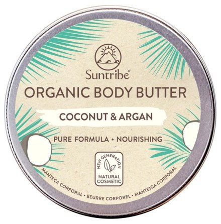 Suntribe Organic Body Butter Coconut & Argan (150 ml)